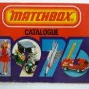 Juguetes antiguos: CATÁLOGO MATCHBOX 1976. Lote 160255050