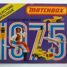 Juguetes antiguos: CATÁLOGO MATCHBOX 1975. Lote 160255158