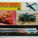 Juguetes antiguos: CATÁLOGO MATCHBOX 1974. Lote 160255262