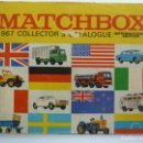 Juguetes antiguos: CATÁLOGO MATCHBOX 1967. Lote 160255374