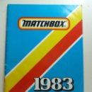 Juguetes antiguos: CATÁLOGO MATCHBOX 1983 (FORMATO GRANDE). Lote 160256454