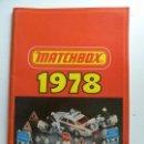 Juguetes antiguos: CATÁLOGO MATCHBOX 1978 (FORMATO GRANDE). Lote 160256862