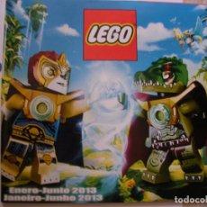 Juguetes antiguos: CATALOGO LEGO. Lote 160417430