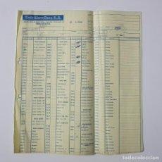 Juguetes antiguos: COLECCIONISMO JUGUETES - HOJA DE PEDIDO EXIN LINES BROS SA 1987 ROBLOCK CASTILLO TENTE CINEXIN 32806. Lote 160672486
