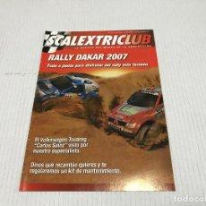 Juguetes antiguos: REVISTA CLUB SCALEXTRIC N 27 - NOVIEMBRE - ENERO 2007 - TECNITOYS EXIN TYCO - VER FOTOS. Lote 160873210