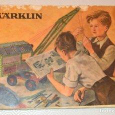 Juguetes antiguos: MARKLIN - CATALOGO - MECANO - 171B. Lote 163125290