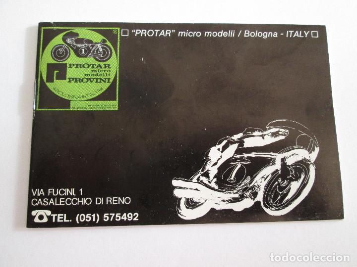 PROTAR - PEQUEÑO CATALOGO - 12X8 - MOTOS Y COCHES - 19 PAGINAS (Juguetes - Catálogos y Revistas de Juguetes)