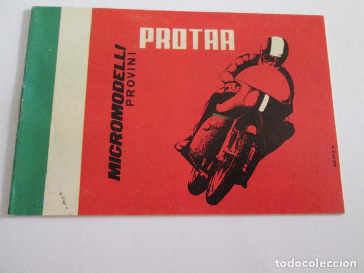 PROTAR - PEQUEÑO CATALOGO - 12X8 - MOTOS Y COCHES INCLUYE VESPA - 12 PAGINAS (Juguetes - Catálogos y Revistas de Juguetes)