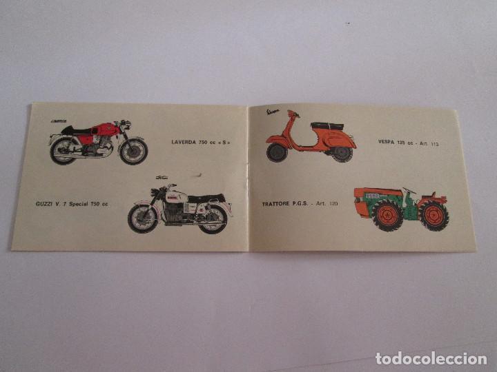 Juguetes antiguos: PROTAR - PEQUEÑO CATALOGO - 12X8 - MOTOS Y COCHES INCLUYE VESPA - 12 PAGINAS - Foto 3 - 163755810