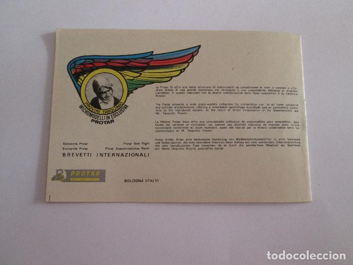 Juguetes antiguos: PROTAR - PEQUEÑO CATALOGO - 12X8 - MOTOS Y COCHES INCLUYE VESPA - 12 PAGINAS - Foto 4 - 163755810