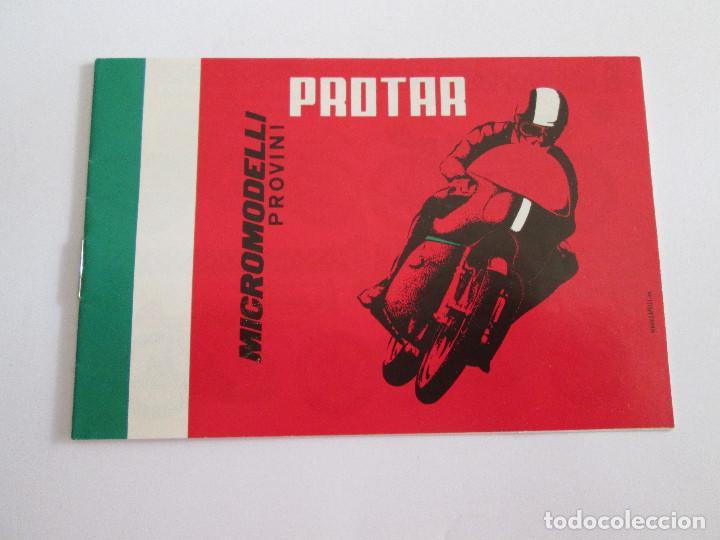 PROTAR - PEQUEÑO CATALOGO - 12X8 - MOTOS - 12 PAGINAS (Juguetes - Catálogos y Revistas de Juguetes)