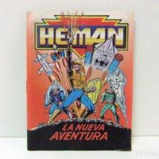 Brinquedos antigos: LA NUEVA AVENTURA - MINI CÓMIC CATALOGO HE MAN MASTERS DEL UNIVERSO MATTEL JUGUETE FIGURA UNIVERSE. Lote 163976782