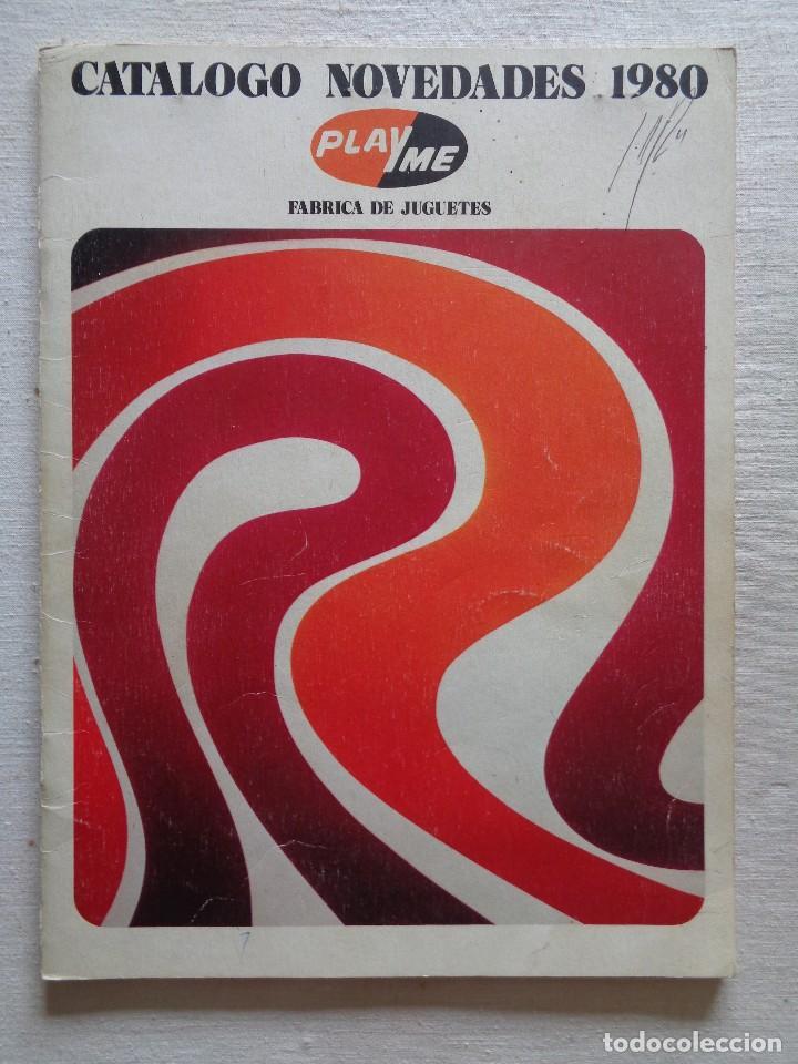 PLAYME.CATALOGO NOVEDADES 1980 (Juguetes - Catálogos y Revistas de Juguetes)