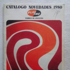 Juguetes antiguos: PLAYME.CATALOGO NOVEDADES 1980. Lote 164549366