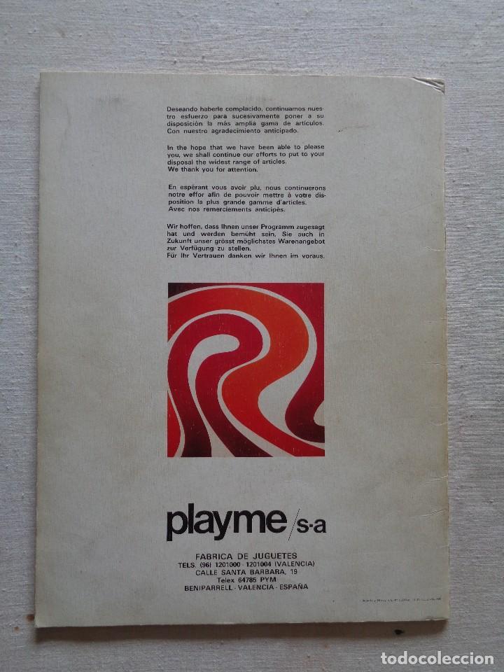 Juguetes antiguos: PLAYME.CATALOGO NOVEDADES 1980 - Foto 2 - 164549366