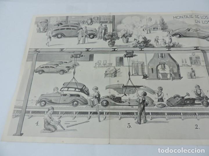 Juguetes antiguos: Catálogo Automóviles Construídos Talleres Rai Juguetes Payá, desplegable con precios, Medidas desple - Foto 3 - 165150666
