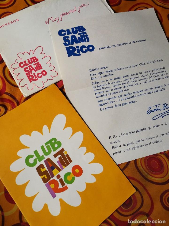 Catalogo Juguetes Santi Rico Para Colorear Y Carta Presentación 1969difícil