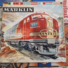 Juguetes antiguos: CATÁLOGO MARKLIN 1961-62, 60 PP., 20X21 CM.. Lote 165983534