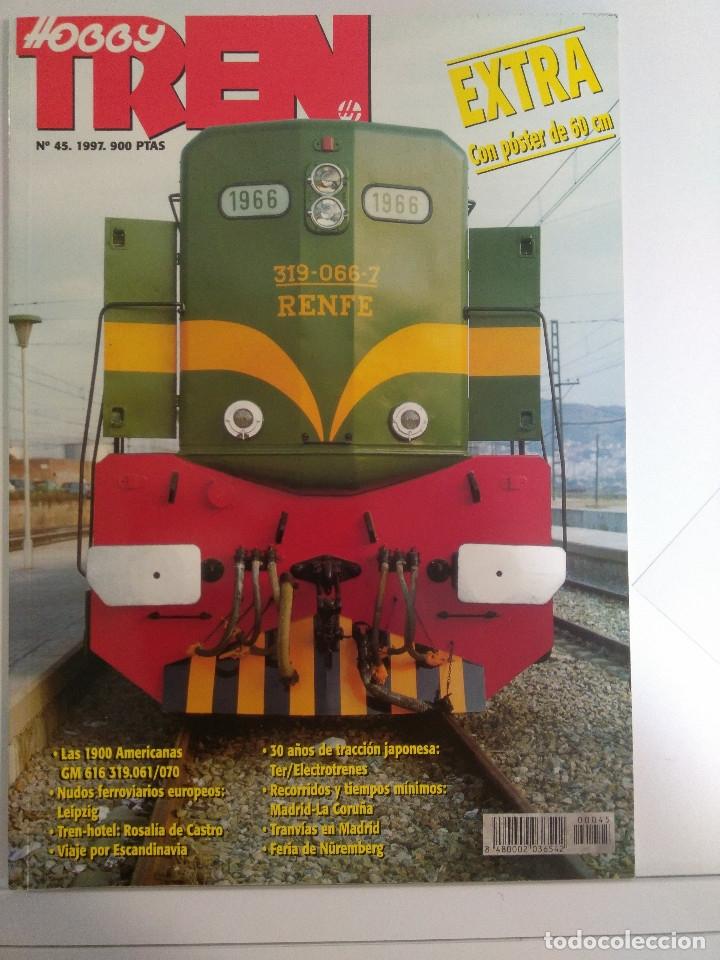 Juguetes antiguos: LOTE 28 Revista HOBBY TREN AÑO 1996 1997 Y1998 Y POSTERS - Foto 6 - 159600362