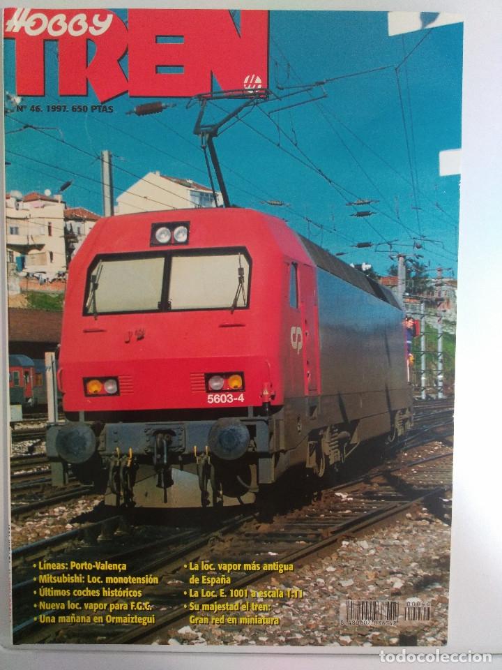 Juguetes antiguos: LOTE 28 Revista HOBBY TREN AÑO 1996 1997 Y1998 Y POSTERS - Foto 7 - 159600362