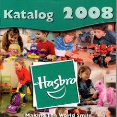 Juguetes antiguos: CATALOGO HASBRO 2008. STAR WARS, TRANSFORMERS, MB, PLAYSCHOOL, TEXTO EN ALEMÁN.. Lote 166909204