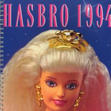Juguetes antiguos: CATALOGO HASBRO 1994. TEXTO EN ALEMÁN. SINDY, ACTION MAN, TRANSFORMERS, WF, ETC.. Lote 166909440