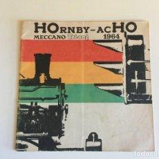 Juguetes antiguos: CATALOGO TRENES HORNBY HO MECCANO TRI-ANG.. Lote 167159768