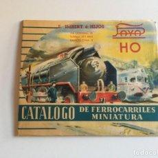 Juguetes antiguos: CATALOGO PAYA HO. Lote 167585252
