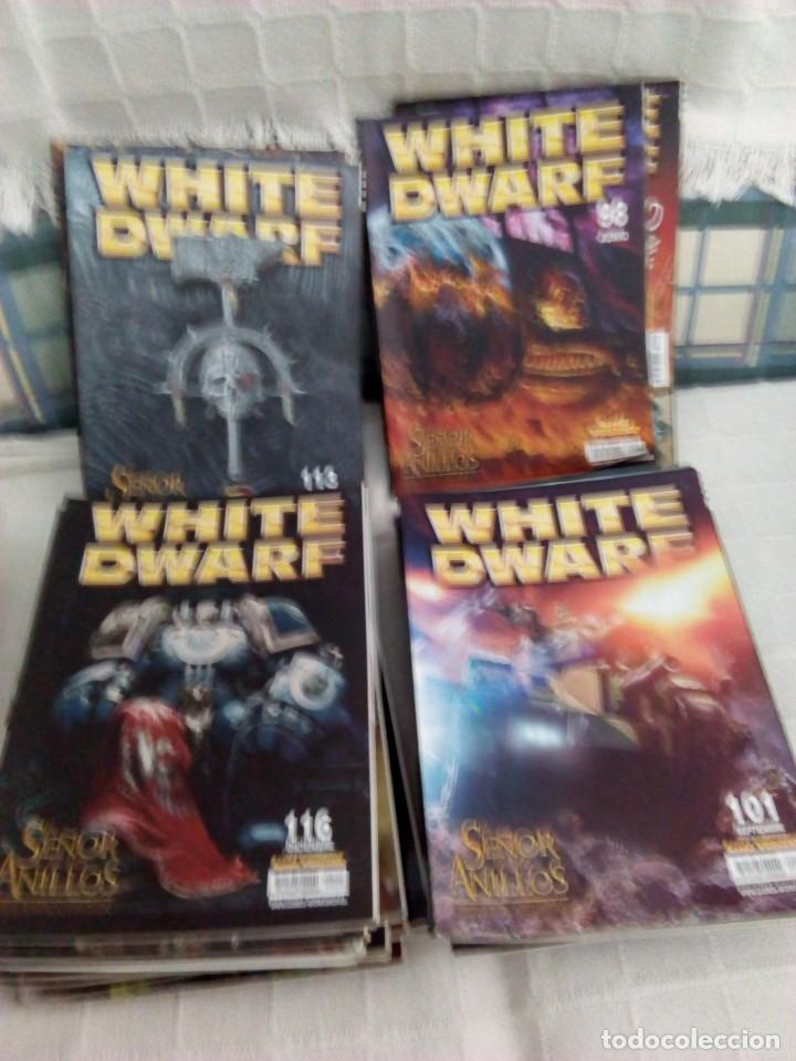 LOTE 27 REVISTAS WHITE DWARF, WAR HUMMER (Juguetes - Catálogos y Revistas de Juguetes)
