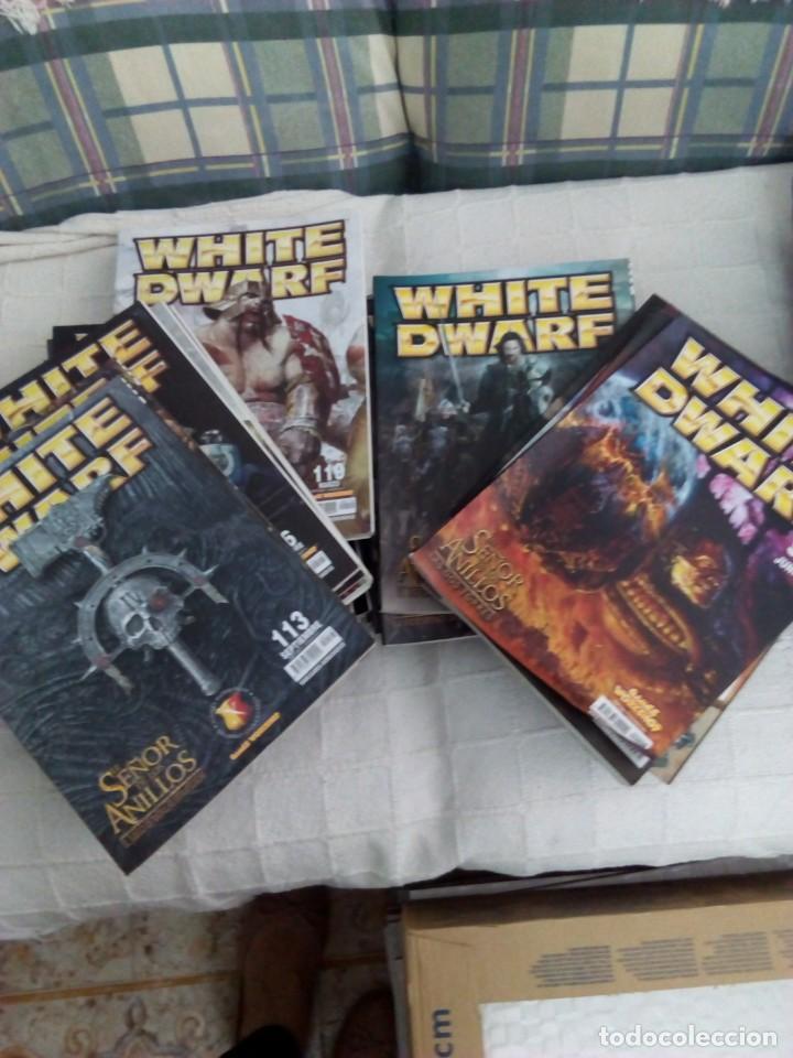 Juguetes antiguos: Lote 27 Revistas White Dwarf, war hummer - Foto 2 - 168328212
