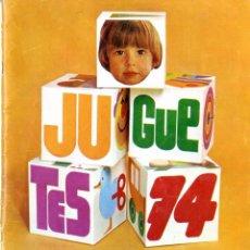 Juguetes antiguos: (M) CATALOGO JUGUETES 1974 EL CORTE INGLÉS, MADELMANS - NANCY - SCALEXTRIC - TENTE - IBERTREN - . Lote 168629796