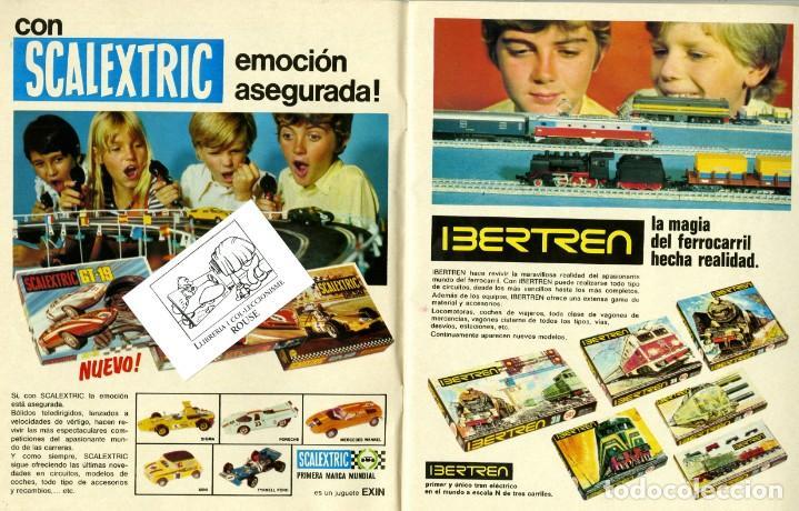 Juguetes antiguos: (M) CATALOGO JUGUETES 1974 EL CORTE INGLÉS, MADELMANS - NANCY - SCALEXTRIC - TENTE - IBERTREN - - Foto 2 - 168629796