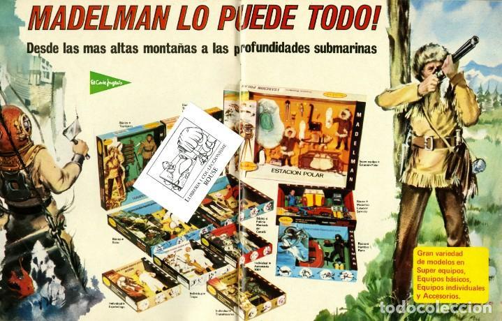 Juguetes antiguos: (M) CATALOGO JUGUETES 1974 EL CORTE INGLÉS, MADELMANS - NANCY - SCALEXTRIC - TENTE - IBERTREN - - Foto 3 - 168629796