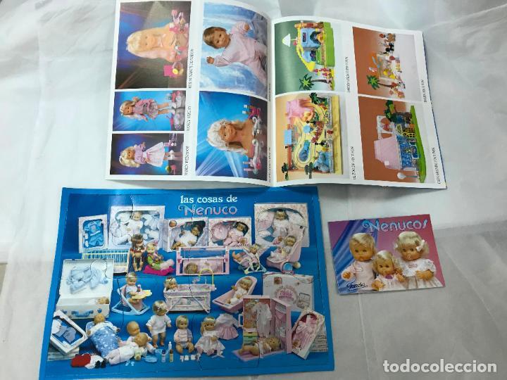 CATALOGO DE FAMOSA Y PLAYMOBIL, NENUCOS, NANCY, PIN Y PON, VER FOTOS Y DESCRIPCION, 1991/92 (Juguetes - Catálogos y Revistas de Juguetes)