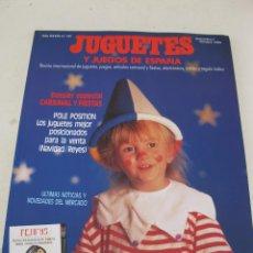 Juguetes antiguos: REVISTA JUGUETES Y JUEGOS DE ESPAÑA - AÑO XXXIII - Nº 131 - SEPTIEMBRE-OCTUBRE DE 1994.. Lote 169288616
