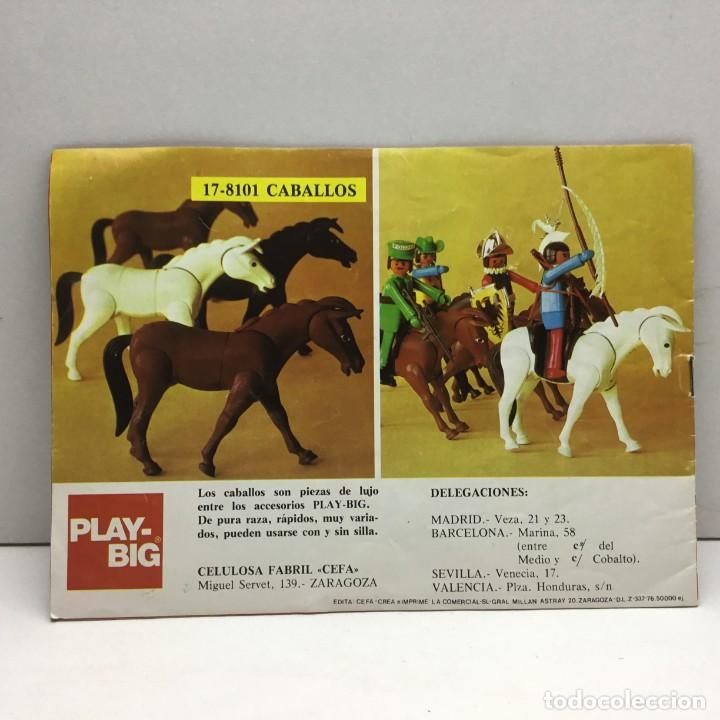 Juguetes antiguos: CATÁLOGO CEFA - FIGURAS CEFA BOYS PLAY-BIG - ORIGINAL - AÑOS 70 - Foto 2 - 169370989