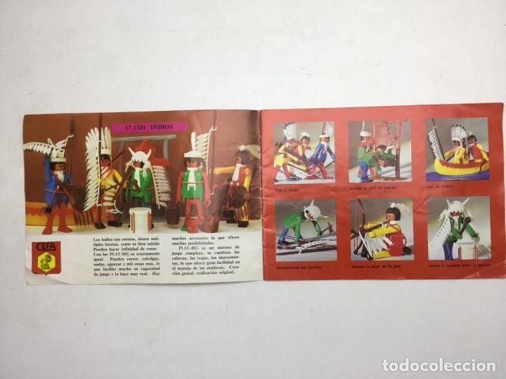 Juguetes antiguos: CATÁLOGO CEFA - FIGURAS CEFA BOYS PLAY-BIG - ORIGINAL - AÑOS 70 - Foto 3 - 169370989