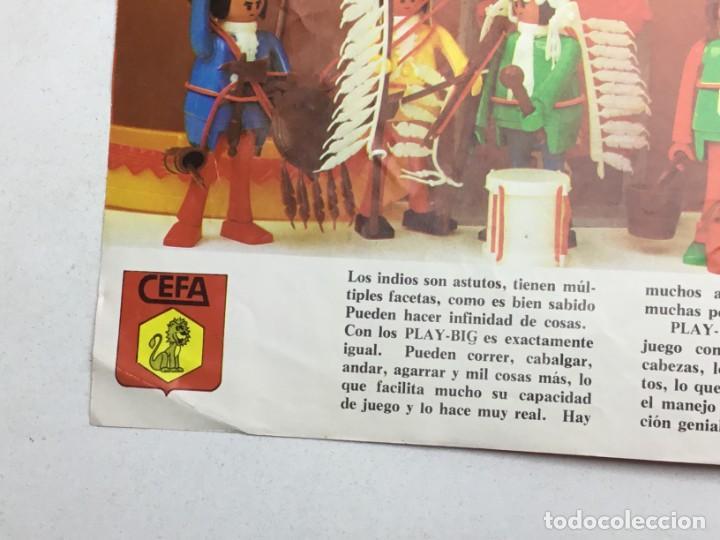 Juguetes antiguos: CATÁLOGO CEFA - FIGURAS CEFA BOYS PLAY-BIG - ORIGINAL - AÑOS 70 - Foto 4 - 169370989