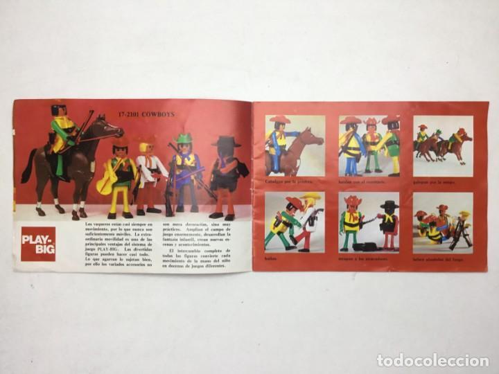 Juguetes antiguos: CATÁLOGO CEFA - FIGURAS CEFA BOYS PLAY-BIG - ORIGINAL - AÑOS 70 - Foto 5 - 169370989