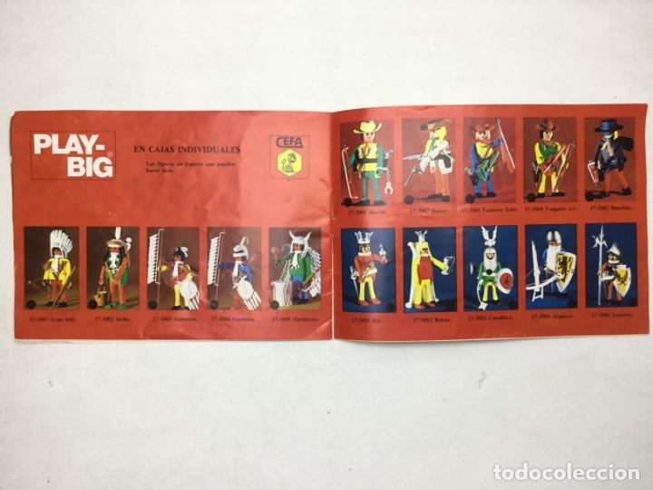 Juguetes antiguos: CATÁLOGO CEFA - FIGURAS CEFA BOYS PLAY-BIG - ORIGINAL - AÑOS 70 - Foto 7 - 169370989