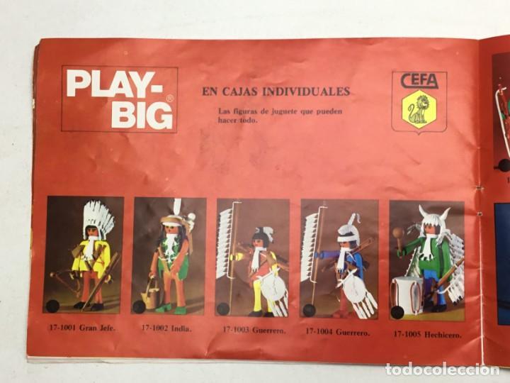Juguetes antiguos: CATÁLOGO CEFA - FIGURAS CEFA BOYS PLAY-BIG - ORIGINAL - AÑOS 70 - Foto 8 - 169370989