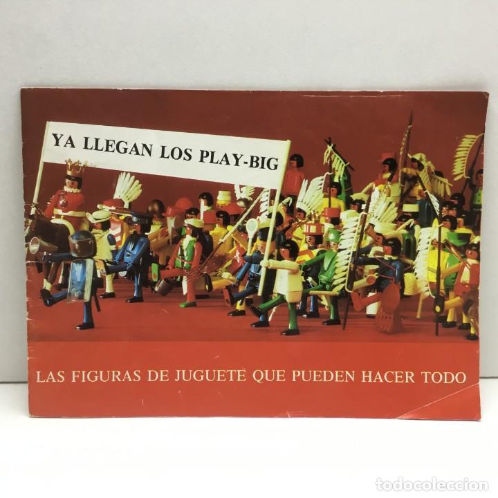 CATÁLOGO CEFA - FIGURAS CEFA BOYS PLAY-BIG - ORIGINAL - AÑOS 70 (Juguetes - Catálogos y Revistas de Juguetes)