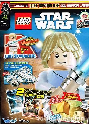 REVISTA LEGO STAR WARS ENERO 2019 (Juguetes - Catálogos y Revistas de Juguetes)