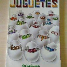 Juguetes antiguos: CATÁLOGO DE JUGUETES EL CORTE INGLÉS 1993 FAMOSA - NANCY. Lote 169682000