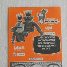 Juguetes antiguos: CATALOGO TRIPTICO JUGUETES MUÑECAS VICMA - TOYSE AÑOS 70.. Lote 170224132
