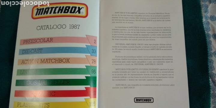 Juguetes antiguos: CATALOGO GENERAL MATCHBOX 1987 .- 132 PAGINAS - Foto 2 - 170285392