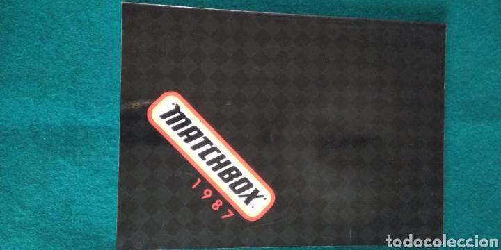 CATALOGO GENERAL MATCHBOX 1987 .- 132 PAGINAS (Juguetes - Catálogos y Revistas de Juguetes)