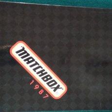 Juguetes antiguos: CATALOGO GENERAL MATCHBOX 1987 .- 132 PAGINAS. Lote 170285392