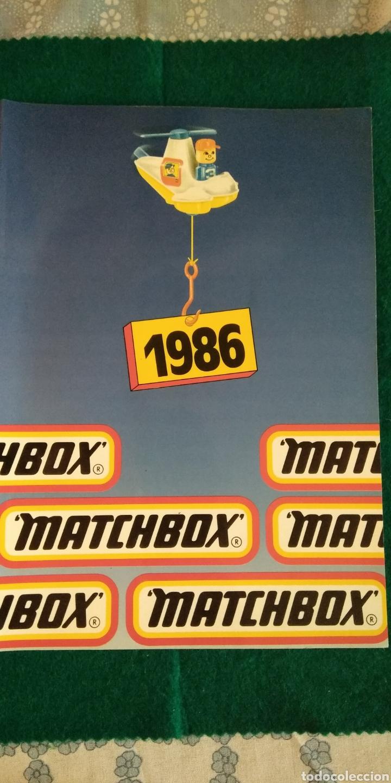CATALOGO GENERAL MATCHBOX 1986 .- 92 PAGINAS (Juguetes - Catálogos y Revistas de Juguetes)