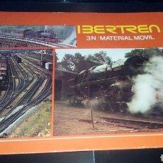 Juguetes antiguos: IBERTREN 3/N MATERIAL MOVIL. Lote 170422038